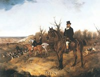 "Beaufort Hunt by J.a. Wheeler - 26"" x 21"""