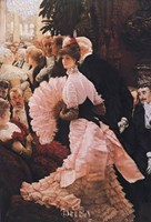 "Reception (L'Ambitieuse) by James Jacques Joseph Tissot - 22"" x 30"""