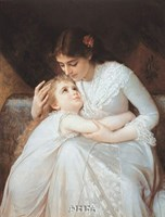 "Pardon, Mama by Emile Munier - 21"" x 27"""