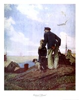 "Outward Bound by Norman Rockwell - 22"" x 28"""