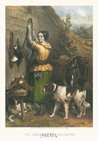 Gamekeeper's Daughter Fine Art Print