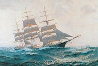 Toward Far Horizons, Ship Triumphant Fine Art Print