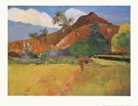 Tahitian Landscape, 1891 Fine Art Print