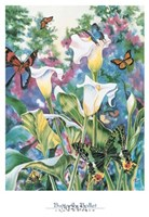 Butterfly Ballet Fine Art Print