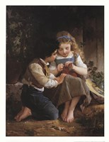 """A Special Moment, 1874 by Emile Munier, 1874 - 20"""" x 26"""""""
