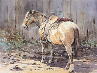 """Resting for a While by LaVere Hutchings - 26"""" x 21"""", FulcrumGallery.com brand"""