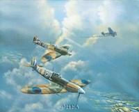 "Straggler (Spitfires) by Phil Janney - 27"" x 22"""