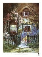 "A Wayside House by Alfred De Breanski - 18"" x 24"""