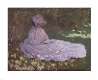 Springtime by Claude Monet - various sizes