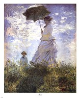 Madame Monet and Her Son Framed Print