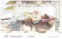 "The Betrothed by John William Godward - 29"" x 18"""
