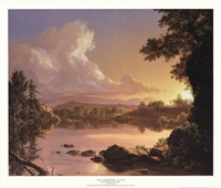 "Scene on Catskill Creek by Frederic Edwin Church - 26"" x 22"""