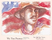 We the People (Man) Fine Art Print