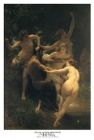 Nymphs and Satyr Fine Art Print