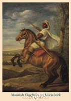 Moorish Chieftain on Horseback Fine Art Print