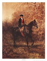 Girl Riding Side-Saddle Framed Print