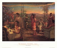 Summer's Evening, 1925 Fine Art Print