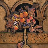 Memories of Provence/Grapes & Persimmons Fine Art Print