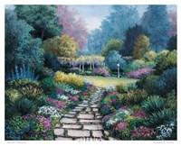"Garden Pathway by Barbara Felisky - 26"" x 22"""