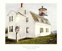 Lighthouse with Bell Fine Art Print