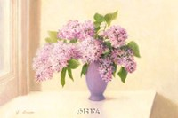 "Lilacs by Jean Grapp - 29"" x 20"""
