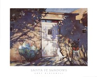 Santa Fe Shadows Framed Print