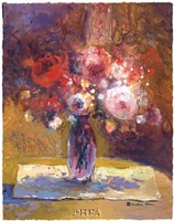 "Moody Roses by Christine Cohen - 24"" x 30"""