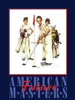 "American Masters by Norman Rockwell - 18"" x 24"""