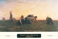 The Weeders, 1860 Fine Art Print