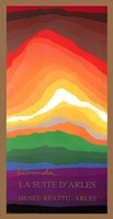 "Volcano by Arthur Secunda - 20"" x 38"""