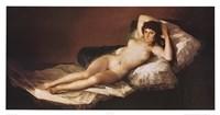 Nude Maja Fine Art Print