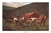 "Snap the Whip by Winslow Homer - 36"" x 23"""