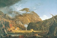 "Notch of the White Mountains by Thomas Cole - 37"" x 26"""
