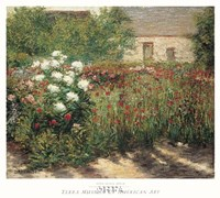 "Garden at Giverny, 1890 by John Leslie Breck, 1890 - 24"" x 24"""