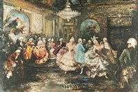 "Festival Ball by European -anon. Genre - 37"" x 26"""
