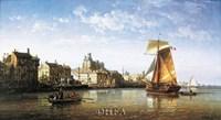Port Scene, France Fine Art Print