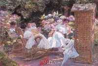A Summer Afternoon, Biarritz Fine Art Print