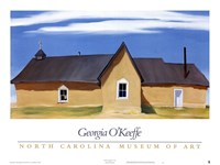 "Cebolla Church by Georgia O'Keeffe - 33"" x 25"""