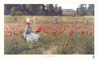 "In Flanders Fields by Robert William Vonnoh - 32"" x 20"""
