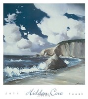 Hidden Cove Framed Print