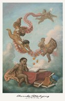 Cherubs Studying Fine Art Print