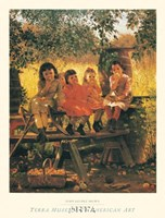 """The Cider Mill, 1880 by John George Brown, 1880 - 23"""" x 31"""" - $22.49"""