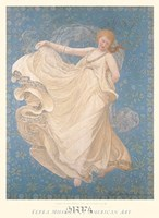 "The Breeze, 1895 by Mary fairchild Macmonnies low, 1895 - 21"" x 31"""