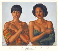 "Sisters by Tim Ashkar - 28"" x 24"""