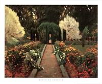 Jardin de Aranjuez Fine Art Print