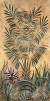 "Victorian Tropics I by Patricia Lynch - 19"" x 35"""