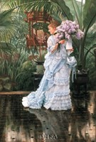 "The Bunch of Lilacs by James Jacques Joseph Tissot - 20"" x 29"""