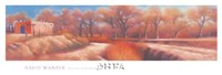 "Isleta Cottonwoods by David Wander - 59"" x 20"""