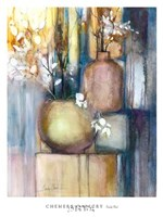 Still Life with Two Vases Fine Art Print