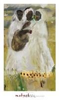 "Meskel Flowers by Daniel Taye - 20"" x 34"""